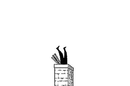 Zoro, on n'avait dit pas la cheminée