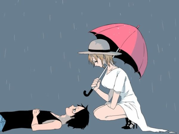 OS n°58 : Dis, t'aimes la pluie ?