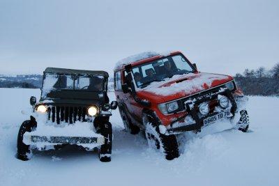 Sortie avec la Jeep!