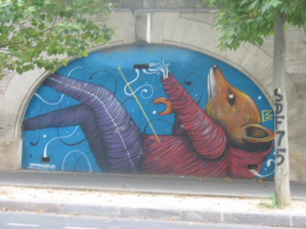 FRESQUE 2 13eme  paris