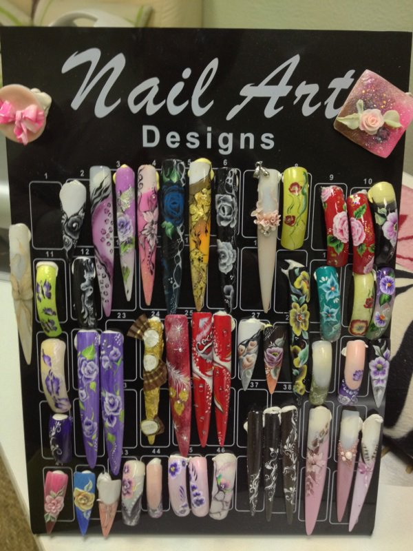 Mes créations nails art