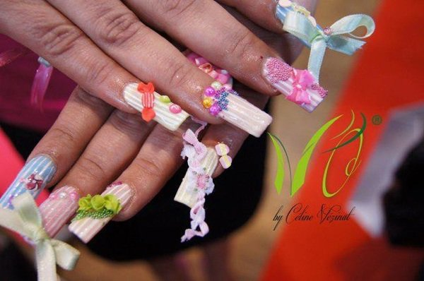 Concours nails art au mondial Spa beauté