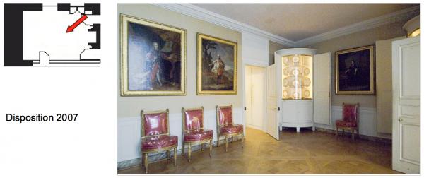 Second étage - Aile centrale - Appartement de la reine - 8 Salle à manger.