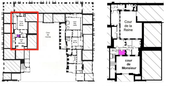 Second étage - Aile centrale - Appartement de la reine - 11 Salle du collier de la reine