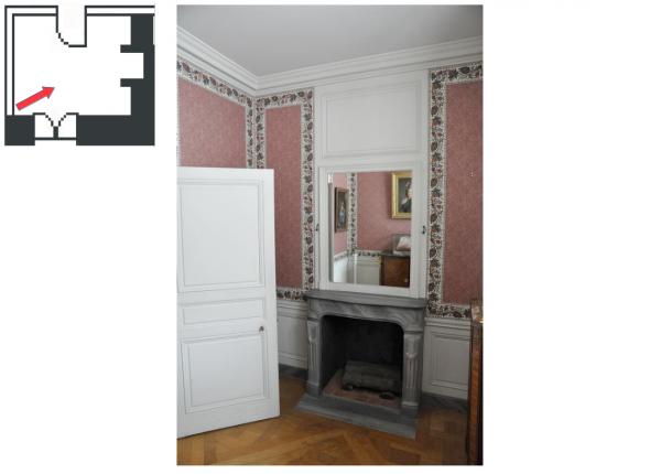 Second étage - Aile centrale - Appartement de la reine - 11 Salle du collier de la reine.