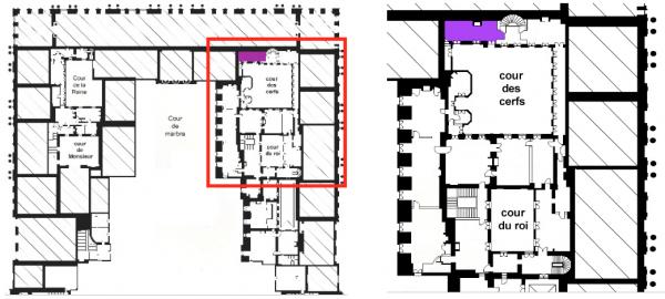 Second étage - Aile centrale - Appartement du roi - 18 Cabinet de physique
