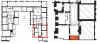 Second étage - Aile centrale - Escaliers - Escalier des combles