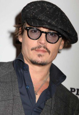 "Johnny at Big Apple ( Premiere of "" Rum Diary "" )"
