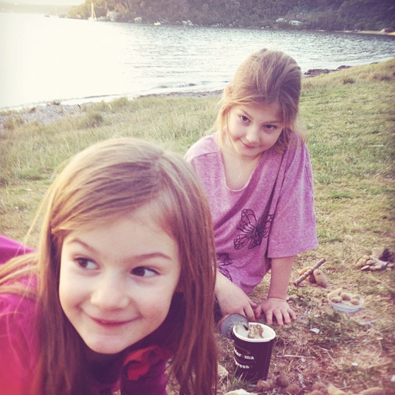 Esme and Zoe
