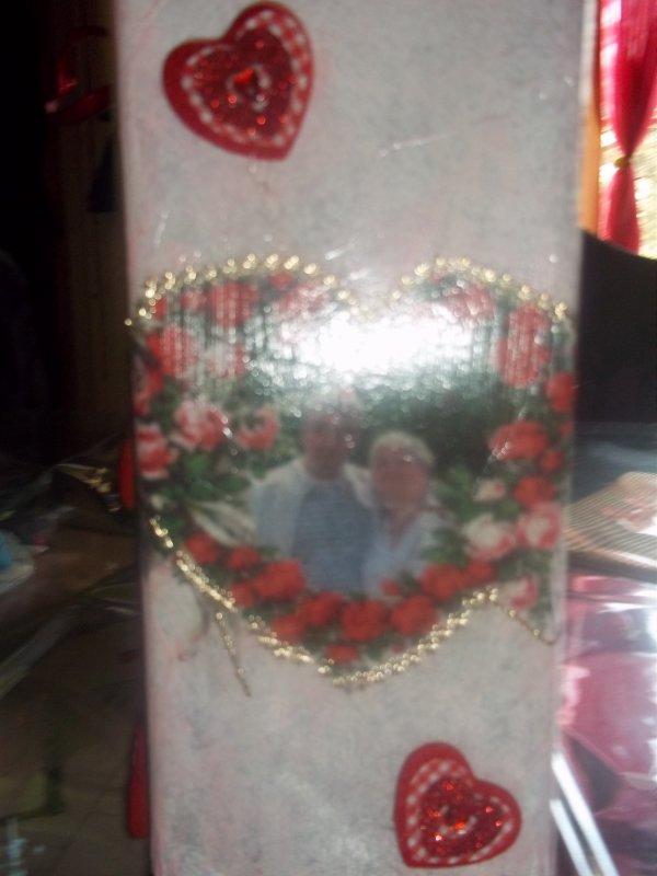 Nouvelle lampe offerte pour laniverssaire de ma belle maman !!!!
