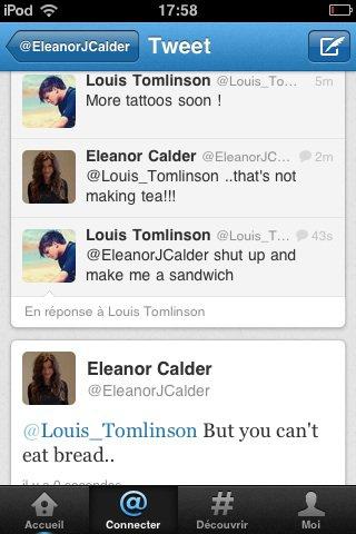 Louanor tweet !! Love