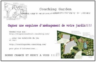 Gagnez un esquisse d'aménagement de votre jardin