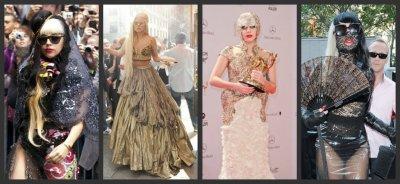 Les 15 looks les plus extravagants de Lady Gaga cet année