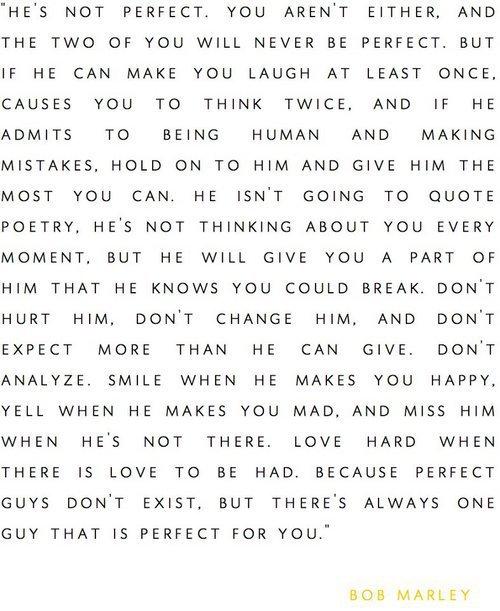 «Ne pleure pas parce que l'histoire est finie, sourie parce qu'elle a eu lieu.»