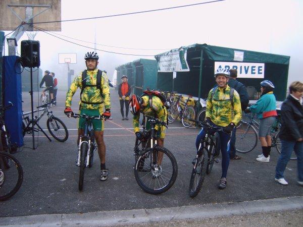 Week-End VTT à Cosne-sur-Loire 2007