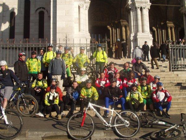 Sortie VTT à Paris (février 2008)