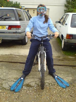 Vélo aquatique...