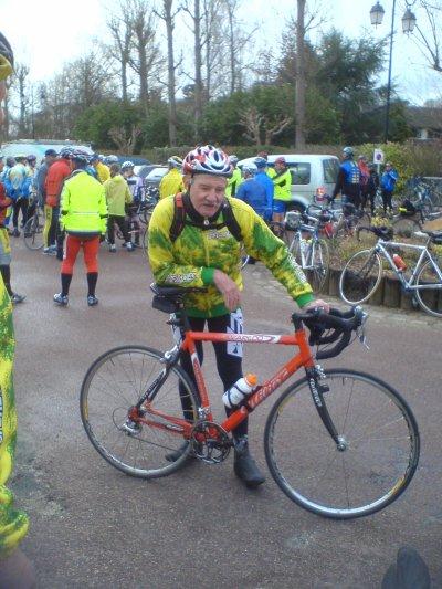 Audax 100 km de Saint-Rémy (mars 2008)