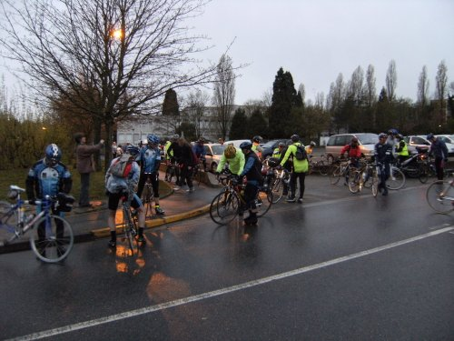 Audax 200 km de Villecresnes (Avril 2008)