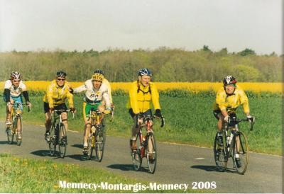 Mennecy-Montargis-Mennecy (avril 2008)