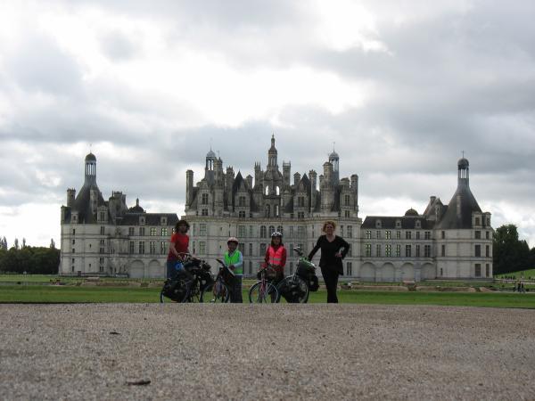 Voyage à vélo en famille (août 2008)