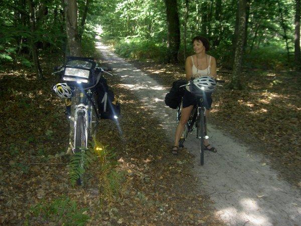 Loire à vélo Juillet – Août 2008 (1/5)