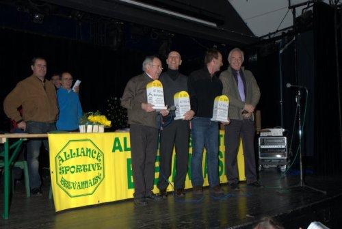 AG ASB CYCLO VTT (janvier 2009) 3/8: Remise des récompenses, par Michel C.