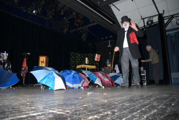 AG ASB CYCLO VTT (janvier 2009) 5/8: Le clou du spectacle, par Michel C.