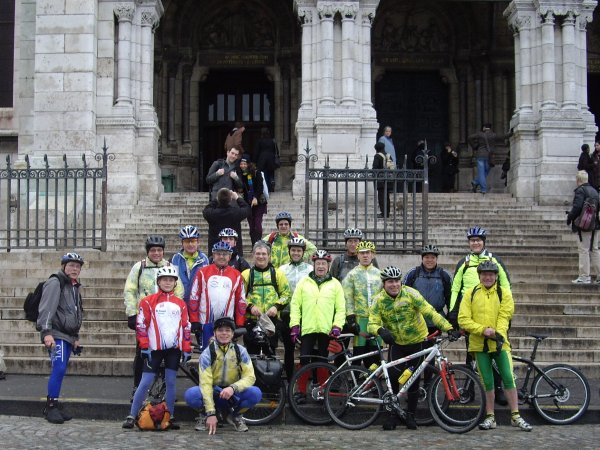 Sortie VTT à Paris janvier 2009 (1/2)