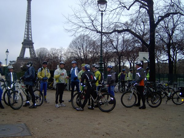 Sortie VTT à Paris janvier 2009 (2/2)