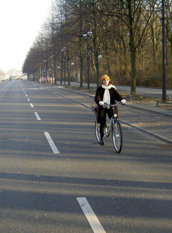 Cyclos brévannais à Berlin (décembre 2008)