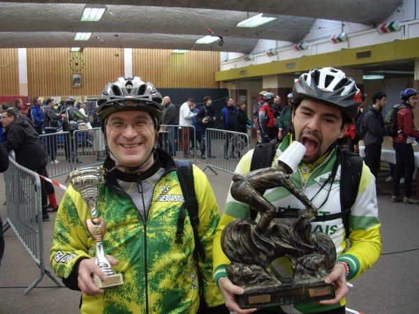 Dammarie-les-lys VTT (février 2009): 2/2, Challenge VTT