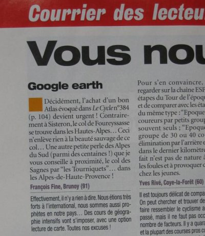 Revue de presse (mars 2009)
