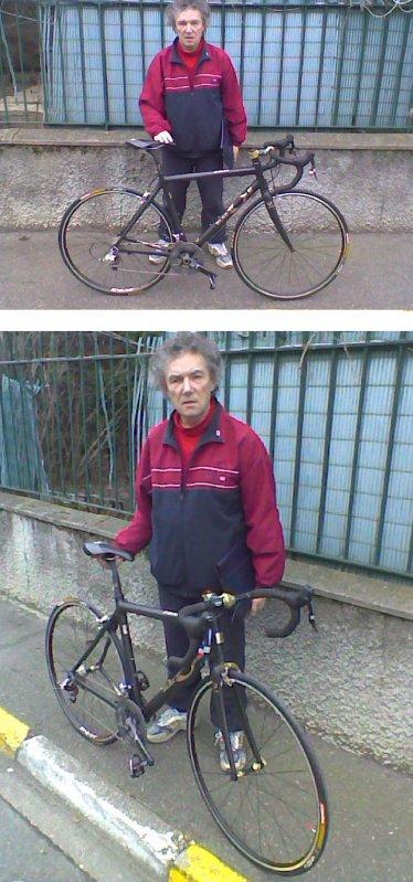 Nouveau vélo de Cantalou (mars 2009)