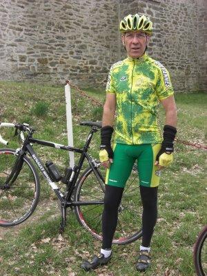La 77 (avril 2009), Première cyclosportive de JPB