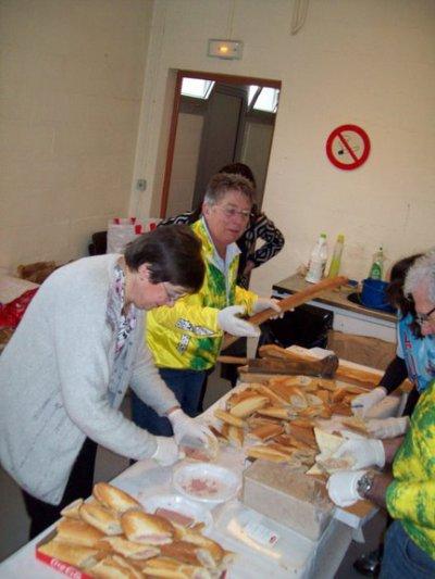 16e Randonnée Brévannaise (avril 2009) (2/5): les coulisses