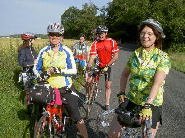 Audax 100 km de Bourron-Marlotte (juin 2009)