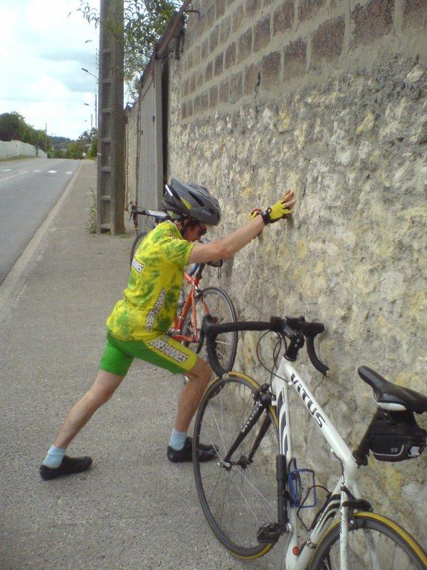 Gilles et le mur ! (juin 2009)