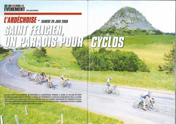 Ardéchoise (juin 2009) 7/7: Brévannais dans la presse