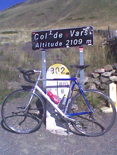 Col de Vars (octobre 2009)