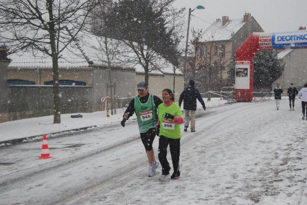 Courageux - course à pied (décembre 2009), par Hommer