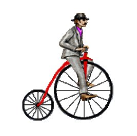 Fable: Le chamois, le bicyclette et le petit lapin (février 2007)