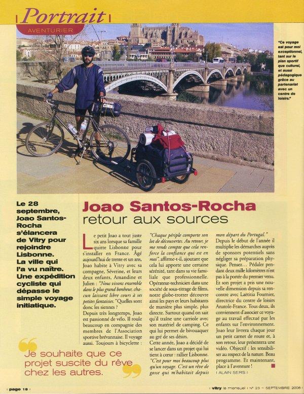 Paris - Lisbonne (octobre 2006), par Joao