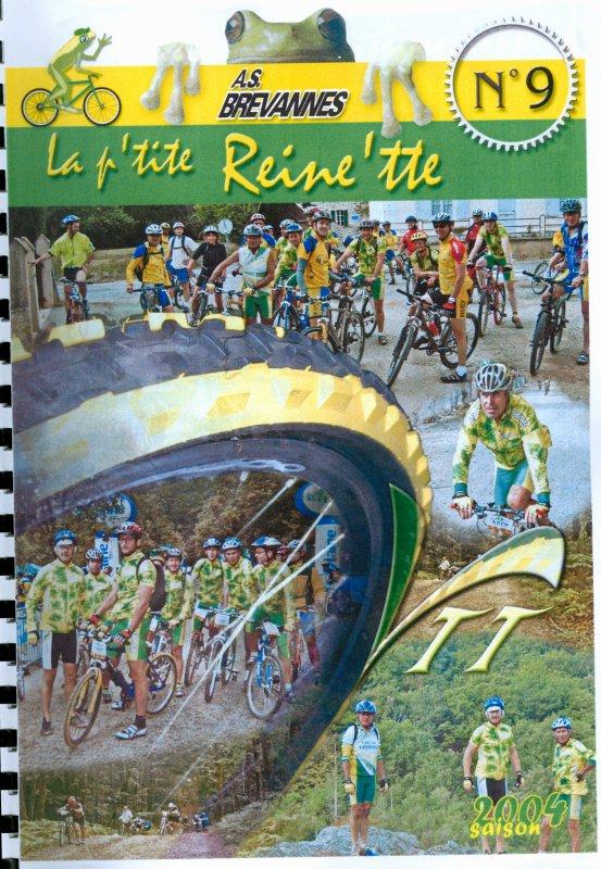 P'tite Reine'tte n° 9 - Saison 2004