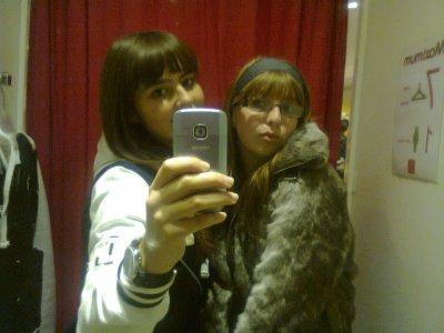 moi et ma meilleure amie tess :) <3