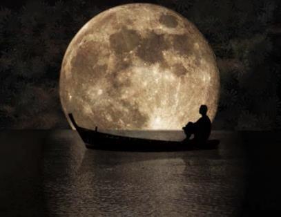 Lune heureuse