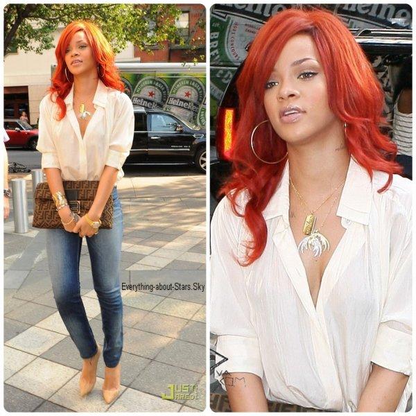 Candids: Rihanna