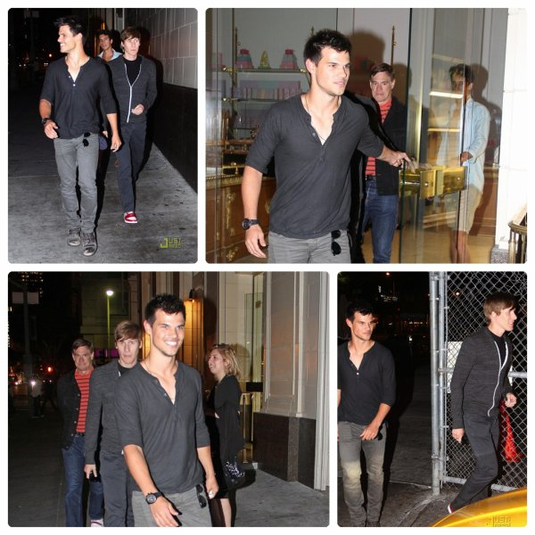 Candids: Taylor a été aperçu allant dîner.