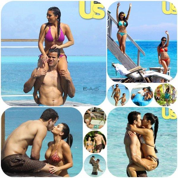 Candids : Kardashian Family à Bora Bora