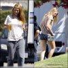 """Candid:  Jeudi 18 août, Blake Lively et Salma Hayek été sur le tournage de """" Savages """""""